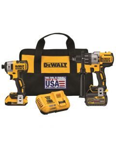 DeWalt DCK299D1T1 FlexVolt Hammer Drill & Impact Driver Combo Kit