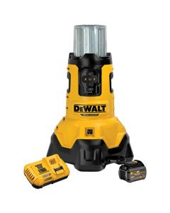 DeWalt DCL070T1 20V MAX Corded/Cordless Bluetooth Large Area Light Kit