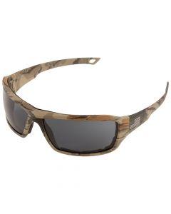 ERB 18042 Camo Anti-Fog Safety Glasses, Grey, Anti-Fog