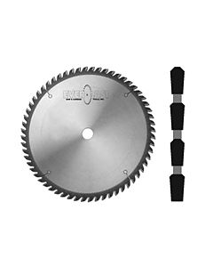 "Everlast DFLC1060 10"" 60T TC Saw Blade, TC Grind for Solid Surface"