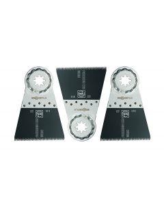 "Fein 63502127270 2-9/16"" Oscillating Precision E-Cut 127 Saw Blade, StarLock, 3/Pack"