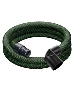 Festool 201665 D27 x 3.0m-AS Braided Sleeve Antistatic Suction Hose, for CT-SYS Vac