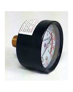 Rolair GA0250200BMGC Pressure Gauge, 0 - 200 PSI, 1/4 inch MNPT