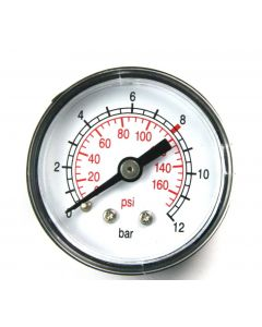 Rolair GA0250200GC Pressure Gauge, 0 - 200 PSI, 1/4 inch MNPT