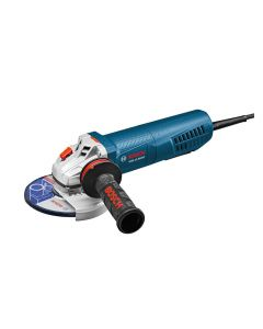 "Bosch GWS13-50VSP 5"" Variable Speed Angle Grinder, 13 Amp, Paddle Switch"