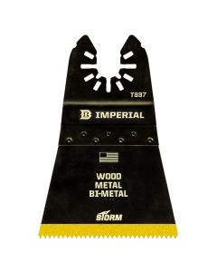 "Imperial IBOAT337-10 2-1/2"" One-Fit Universal Oscillating Blades, Titanium Bi-Metal"