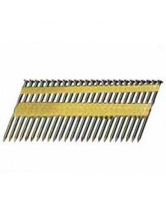 "Max USA KCM83W8 3-1/4"" .148 21-Degree High Pressure Stick Framing Nails, Full Round Head, 2400/Box"