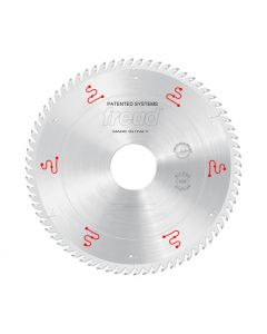 Freud LSB35008X Panel Sizing Circular Saw Blade, 350 mm, Carbide, Silver I.C.E. Coated, 72 TCG