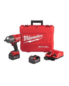 "Milwaukee 2767-22 M18 FUEL 1/2"" High Torque Impact Wrench Kit (Friction Ring)"