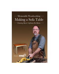 MW-DVD1 Making a Sofa Table DVD (Burton)
