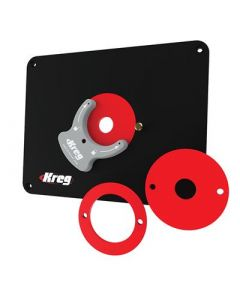 Kreg PRS4038 Precision Router Table Undrilled Insert Plate