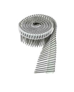 "Simpson Strong Tie S13A175IPC 1-3/4"" Rink Shank Plastic Siding Coil Nails, 304 Stainless Steel, 3200/Box"