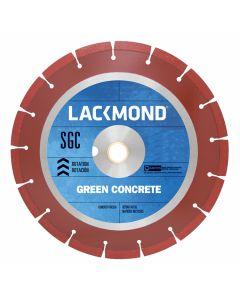 "Lackmond SG8SGC085 8"" x .085 x 7/8""-5/8"" Wet/Dry, Asphalt/Green Supreme Early Entry Diamond Saw Blade"
