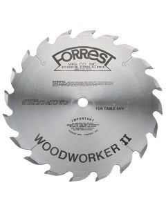 10x20T Woodworker II Rip Saw Blade