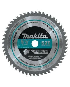 "Makita A-96126 5-7/8"" Aluminum 52T Carbide-Tipped Saw Blade"