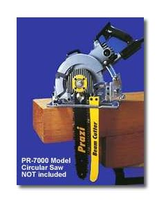 """PR7000 Prazi 12"""" Beam Cutter to fit Worm Drive and Rear-Handle Circular Saws"""