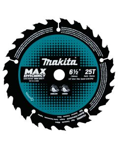 """Makita B-62963 6-1/2"""" Carbide Tipped Max Efficiency Framing Circular Saw Blade"""