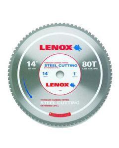 "Lenox LEN21891 14"" x 80T x 1 Steel Cutting Blade, Lenox 21891ST140080CT"