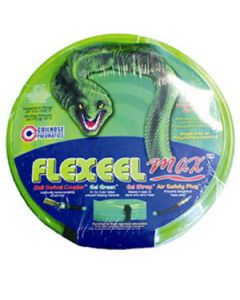 "Flexeel Max 1/4"" x 50' Air Hose, Polyurethane, with 1/4"" fitting"