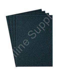 """9x11 (11"""" L x 9"""" Inch W) 80-Grit Emery Cloth Abrasive Sheet (Medium)"""