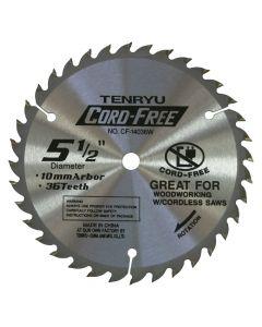 "Tenryu CF-14036W 5-1/2"" Cord Free Saw Blade"