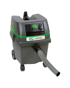 CS1225 Wet/Dry Dust Extractor Vacuum with Self-Clean Mode, 6.6 Gallon