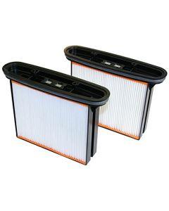 CS Unitec 428956 HEPA Filters, 2/Pack, for CS1225 Vac