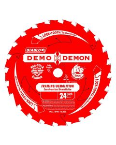 "Freud D0624DA 6-1/2"" 24 Teeth Demo-Demon Circular Saw Blade"