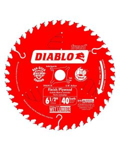 "Freud D0641A 6-1/2"" 40 Teeth Diablo Finishing Circular Saw Blade"