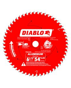 "Freud D0654N 6-1/2"" 54 Teeth Diablo Aluminum Cutting Saw Blade"