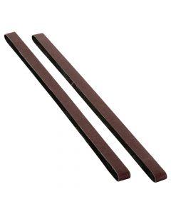 Woodstock Shop Fox D1215 80 Grit Aluminum Oxide Sanding Belt, 2 Piece