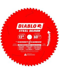 "Freud D1260CF 12"" x 60 Tooth Steel Demon Diablo Metal Saw Blade"
