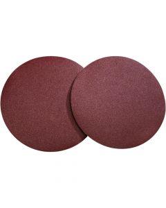 "Woodstock ShopFox D1337 12"" PSA 100 grit Aluminum Oxide Sanding Discs, 2-Pack"