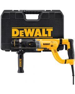 "DeWalt D25263K 1-1/8"" D-Handle SDS Rotary Hammer Kit"