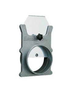 """W1141 3"""" Aluminum Dust Blast Gate (Sub for 50-490)"""