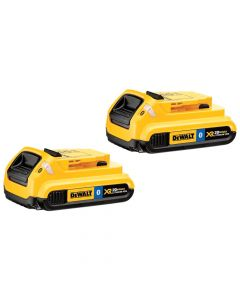DeWalt DCB203BT-2 20V Max 2Ah Compact Battery with Blue Tooth, 2 Pack