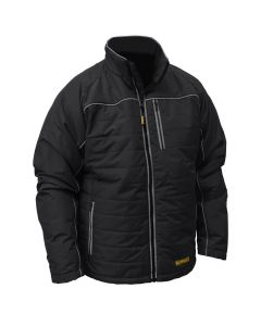DeWalt DCHJ075B-2X Black Quilted Heated Jacket, 2X-Large