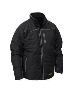 DeWalt DCHJ075B-L Black Quilted Heated Jacket, Large