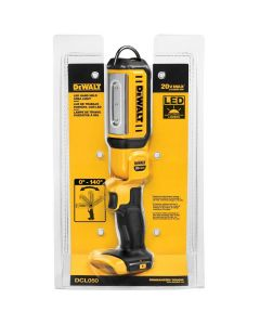 DeWalt DCL050 20V Max Cordless LED Hand Held Area Light, Bare Tool