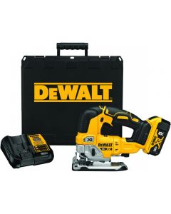 DeWalt DCS334P1 20V Max XR Cordless Jig Saw Kit, 5.0Ah Batteries
