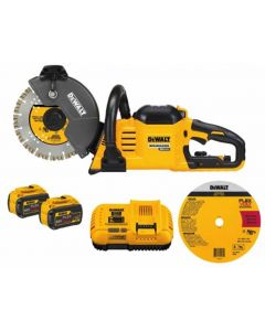 "DeWalt DCS690X2 FlexVolt 60V MAX Cordless 9"" Cut-Off Saw Kit"