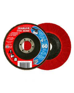 "Freud DCX045060N01F 4-1/2"" 60 Grit Diablo Steel Demon Flap Disc"