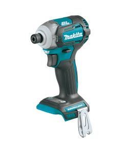 Makita XDT12Z 18V LXT Lithium‑Ion Cordless Quick‑Shift Mode 4‑Speed Impact Driver, Bare Tool
