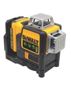DeWalt DW089LG 12V MAX 3 x 360-degree Green Line Laser Level Kit