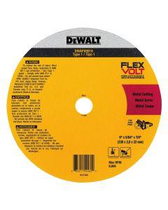 "DeWalt DWAFV8918 9"" x 5/64"" x 7/8"" Flexvolt Ceramic Metal Cutoff Wheel"