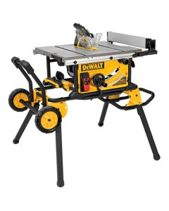 "DeWalt DWE7491RS 10"" Portable Table Saw with Rolling Stand"