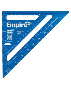 """Empire E2994 7"""" True Blue Laser Etched Framing Square"""