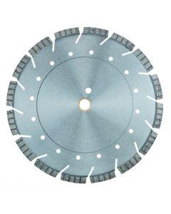 "LACKMOND PRODUCTS Multi-Application STS5 Series 14""x.125x20mm Segmented Turbo Diamond Blade"