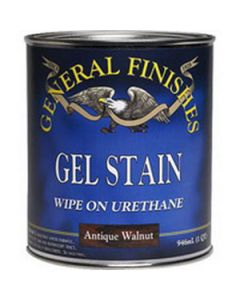 General Finishes Gel Stain, Brown Mahagony, Quart