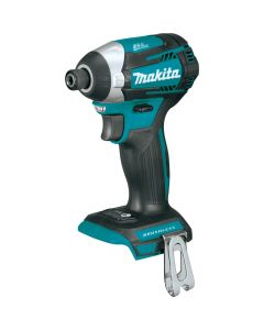 Makita XDT14Z 18V LXT Lithium-Ion Cordless Quick-Shift Mode 3-Speed Impact Driver, Bare Tool